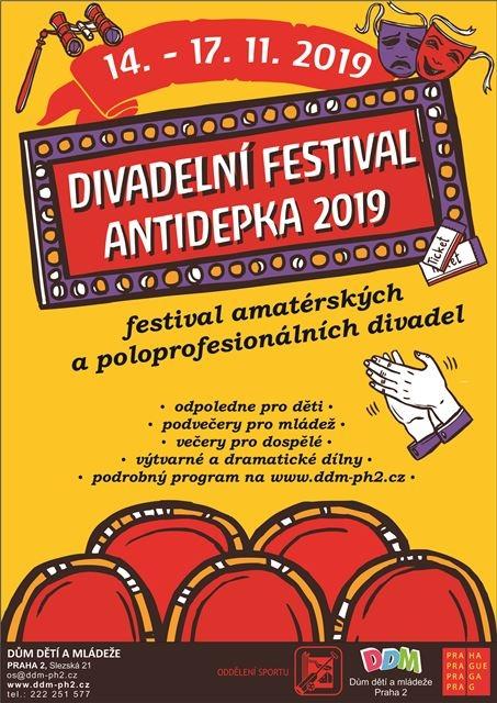 Výsledek obrázku pro festival antidepka