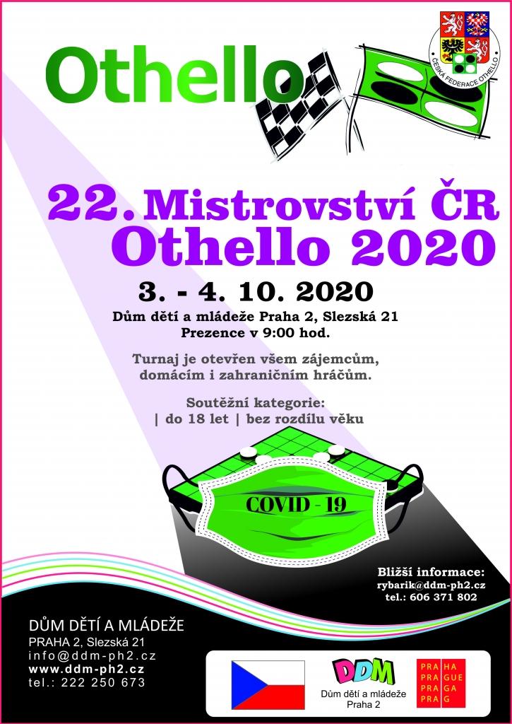 Mistrovství ČR OTHELLO 2020