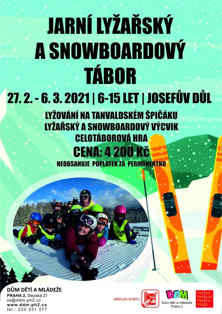 Jarní lyžařský tábor pro Prahu 6-10