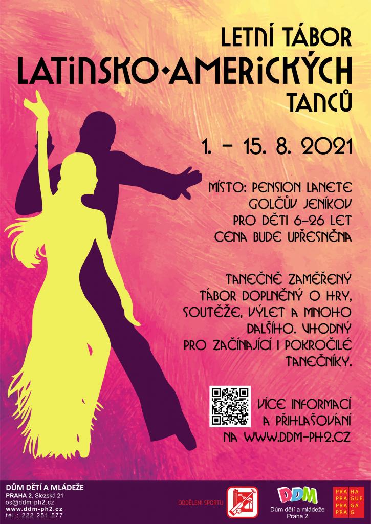 Letní tábor taneční 1 - latina