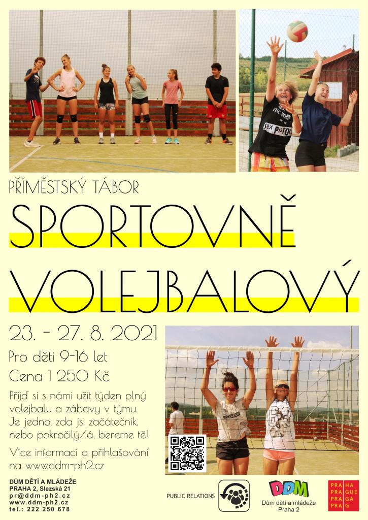 Příměstský tábor sportovní volejbalový