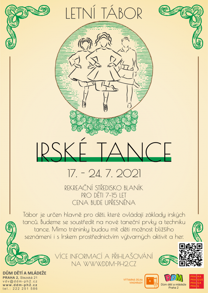 Letní tábor irské tance